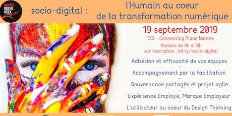 Socio-digital : l'Humain au cœur de votre transformation numérique billets