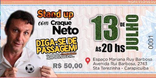 Stand up com o Craque Neto