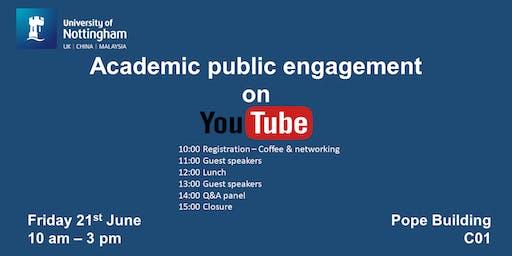 Academic Public Engagement on YouTube
