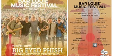 Big Eyed Phish: The DMB Tribute Band at Bar Louie Music Festival tickets