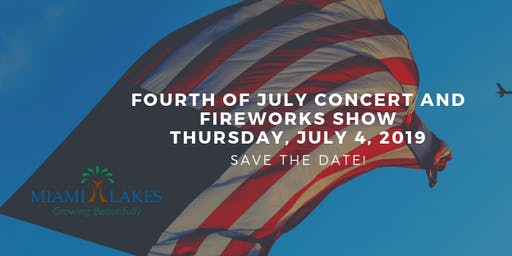16th Annual 4th of July Concert & Fireworks: Vendor Registration