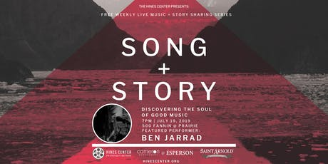 Song + Story: Discovering the Soul of Good Music Free Summer Concert Series Featuring Ben Jarrad tickets