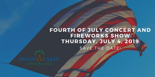 16th Annual Fourth Of July Concert And Fireworks Show: Sponsorship Package