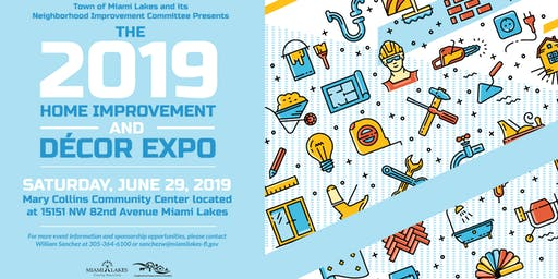 2019 NIC Home Improvement & Decor Expo Sponsorship Package