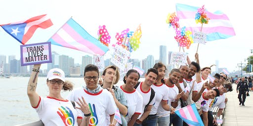 March with Oasis LGBTS at 15th Annual Trans Day of Action NYC