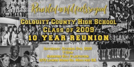 Colquitt County High School | Class of 2009 | 10 Year Reunion tickets