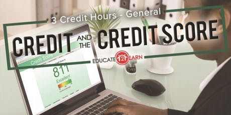 3 Free CE Hours - Credit & The Credit Score tickets
