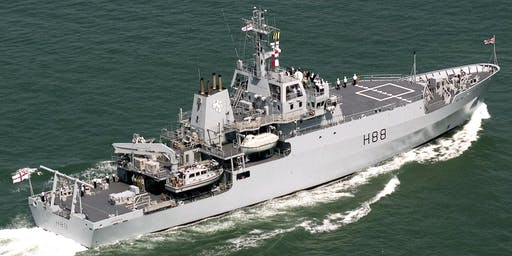 HMS ENTERPRISE Ship Open To Visitors