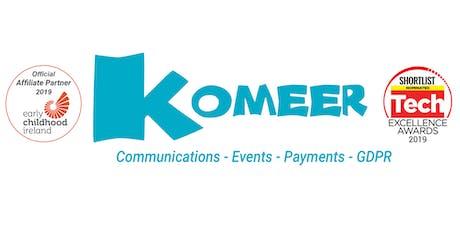 Komeer for Childcare Dublin 15 Presentation  tickets