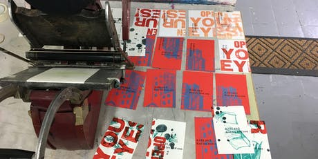 Letterpress Taster Day tickets