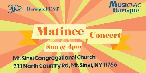 Baroque Concert @Mt. Sinai Congregational Church!