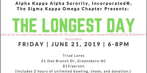 'The Longest Day' Bowling Fundraiser-AKA Sigma Kappa Omega Chapter