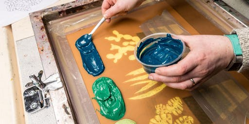 Paper Screen Printing - 5 Week Course