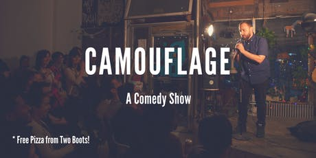 Camouflage: A Comedy Show (Free Pizza!) tickets