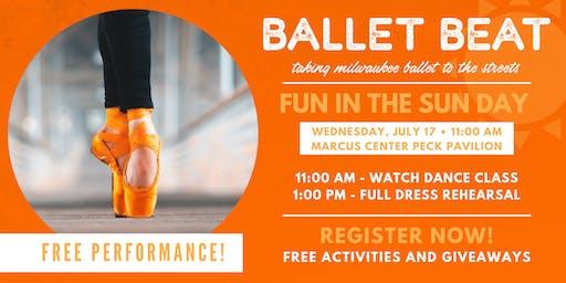 Ballet Beat - Fun in the Sun Day