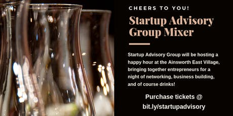 Startup Advisory Group Entrepreneur & VC Mixer  tickets