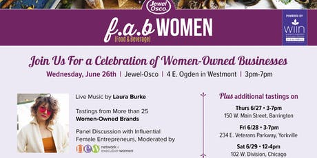 F.A.B Women Event at Jewel-Osco tickets
