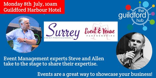 How to create, run & market an event