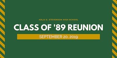 Stevenson High School - Class of '89 Reunion