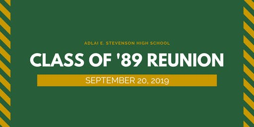 Stevenson High School - Class of '89 Reunion