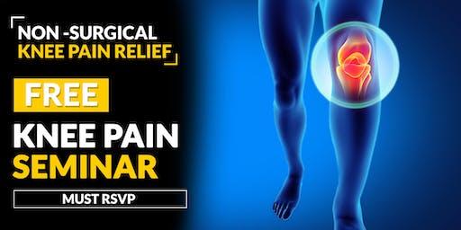 FREE Knee Pain Relief Seminar - McKinney, TX 6/18