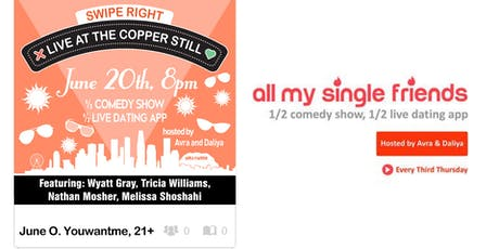 All My Single Friends: All June Need is Love tickets