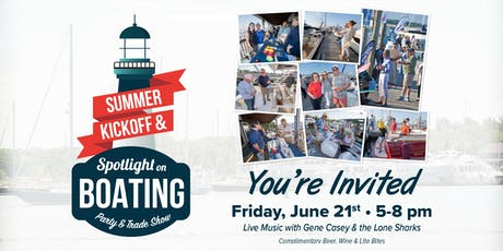 Spotlight on Boating Party & Trade Show tickets