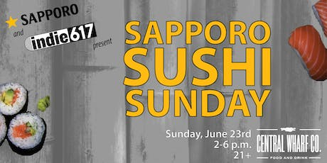 indie617 Sapporo Sushi Sunday tickets