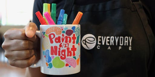 Ceramic Mug Paint Night!
