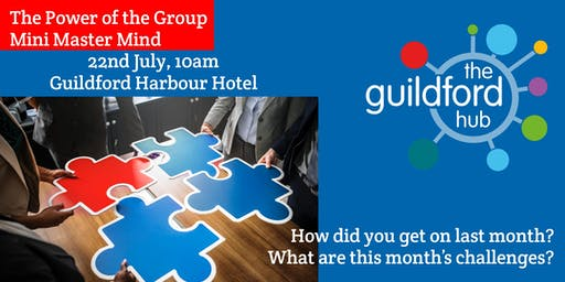 The Power of the Group – July Mini-Mastermind
