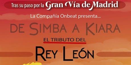 EL REY LEON el tributo entradas