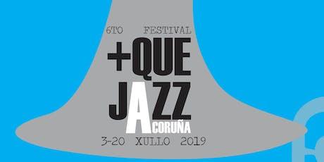 +QueJazz en A Coruña entradas