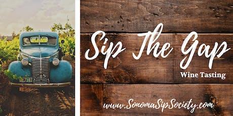 Sip the Gap, Petaluma Wine Tasting tickets