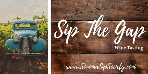 Sip the Gap, Petaluma Wine Tasting
