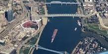 Cincinnati, Newport and Covington 3 Bridges Walkabout