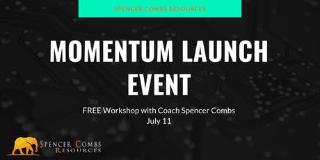 Momentum Launch with Spencer Combs tickets