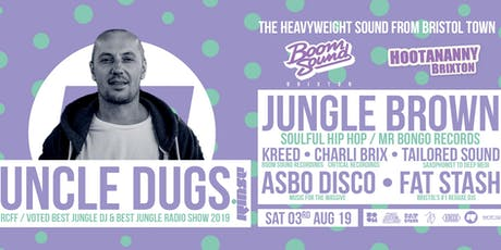 ASBO Disco: Boom Sound Recordings w/ Uncle Dugs, Jungle Brown, Kreed & more! tickets