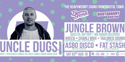 ASBO Disco: Boom Sound Recordings w/ Uncle Dugs, Jungle Brown, Kreed & more!