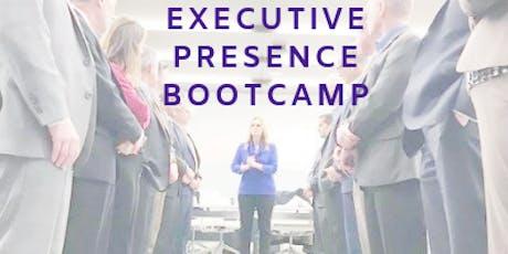 Nov 1 EXECUTIVE PRESENCE BOOTCAMP by The School of Executive Presence tickets