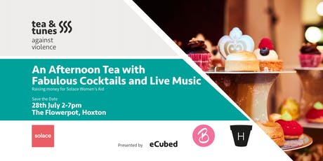 eCubed Official Launch: Afternoon Tea & Cocktails with Live Music in support of Solace Women's Aid tickets