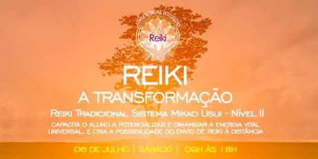 Iniciação Reiki nível 2 ingressos