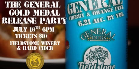 The General Gold Medal Release Party tickets