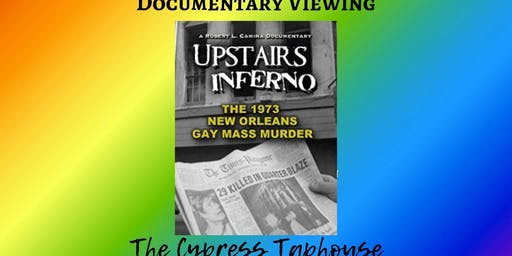 Pride Month Documentary Viewing Upstairs Inferno