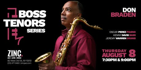 Boss Tenors Series: Don Braden tickets