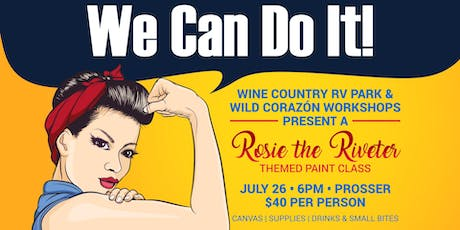 Rosie the Riveter Paint Class tickets