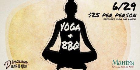 Yoga & BBQ (6/29) tickets