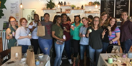 Sip & Wick : Candle Making with Drink Included tickets