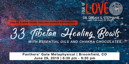 33 Tibetan Healing Bowls,Essential Oil & Chocolate Experience, Sound Healing, Broomfield, CO