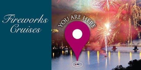 SPLASH Fireworks Cruise tickets
