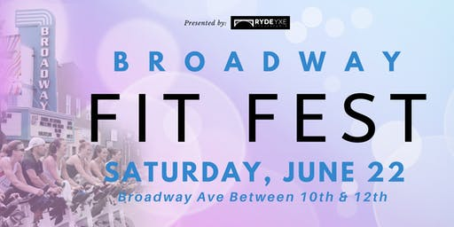 4th Annual Broadway Fit Fest